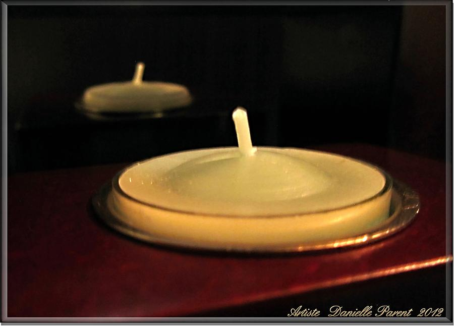 D.p. Photograph - Candles And Relaxation by Danielle  Parent