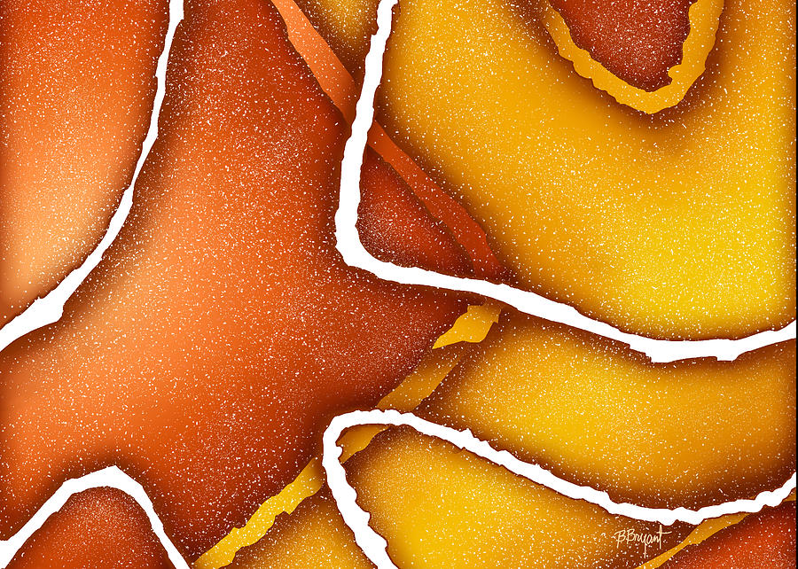 Candy Corn Painting  - Candy Corn Fine Art Print