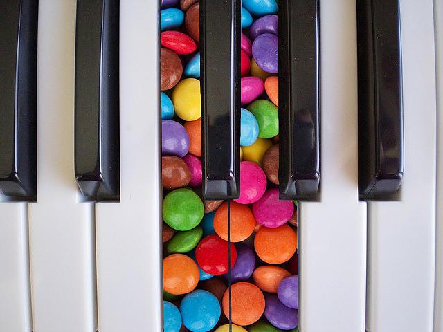Candy Keys Digital Art
