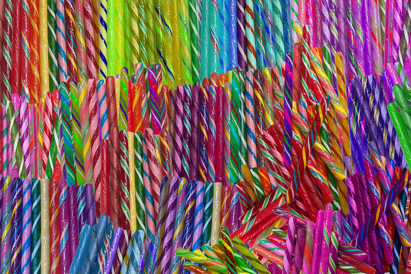 Candy Twists Photograph