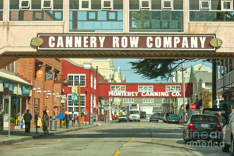 Cannery Row Monterey California Photograph