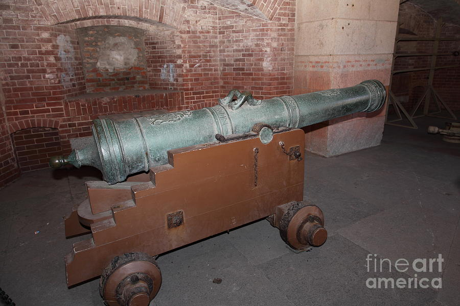 Cannon At San Francisco Fort Point 5d21503 Photograph