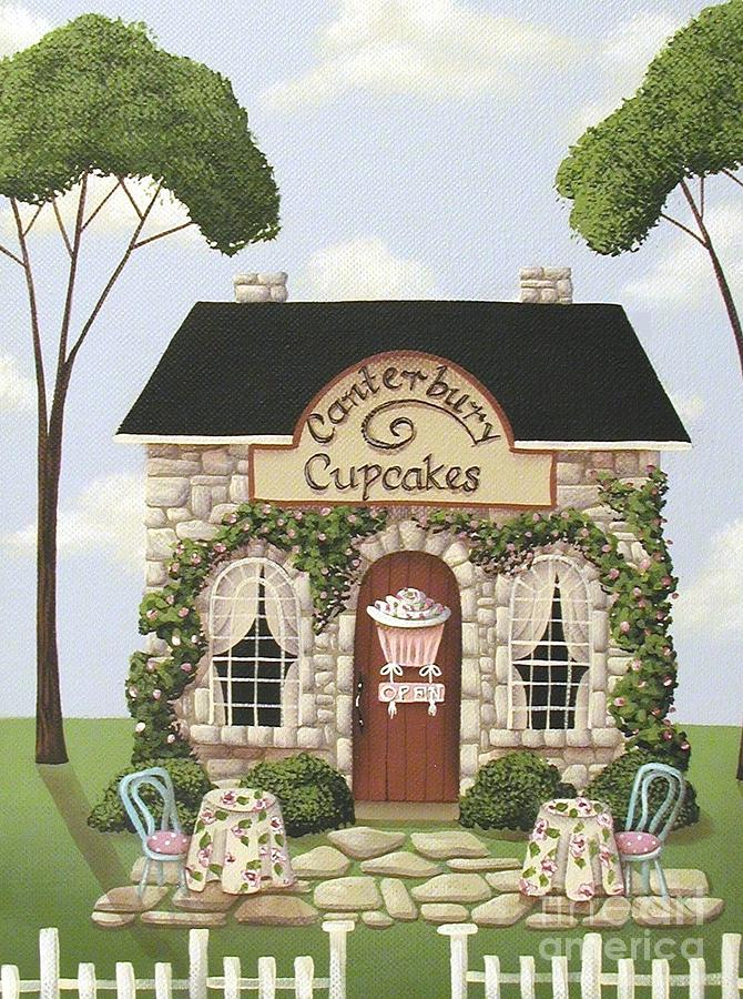 Canterbury Cupcakes Painting