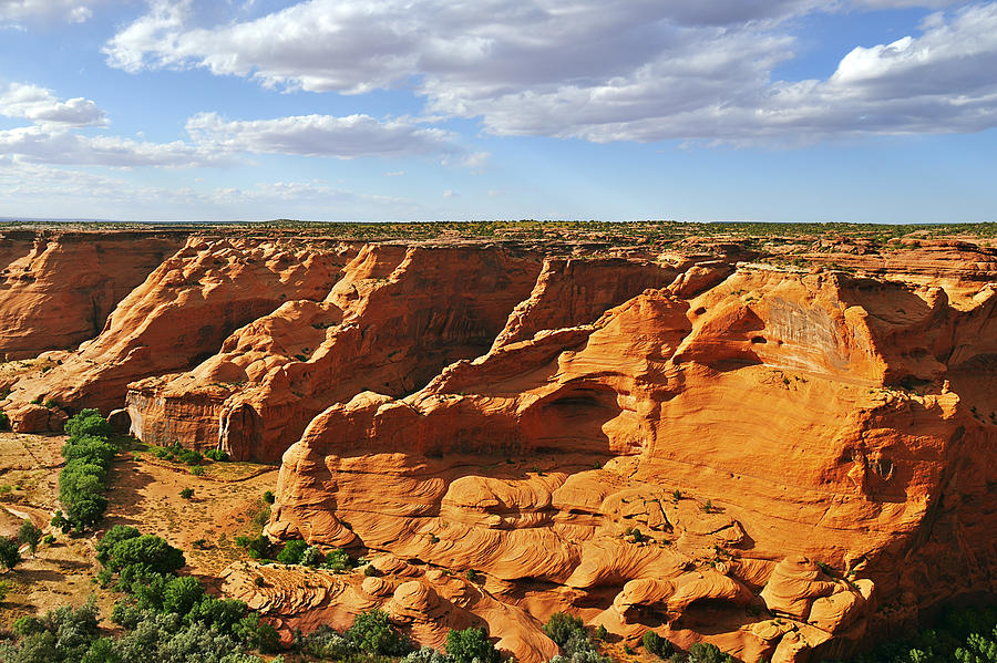 Canyon De Chelly From Face Rock Overlook Photograph