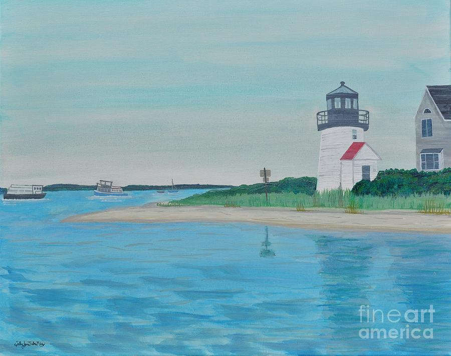 Cape Cod Chatham Lighthouse Painting