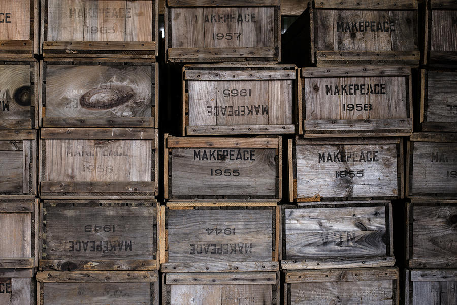 Cape Cod Cranberry Crates Photograph