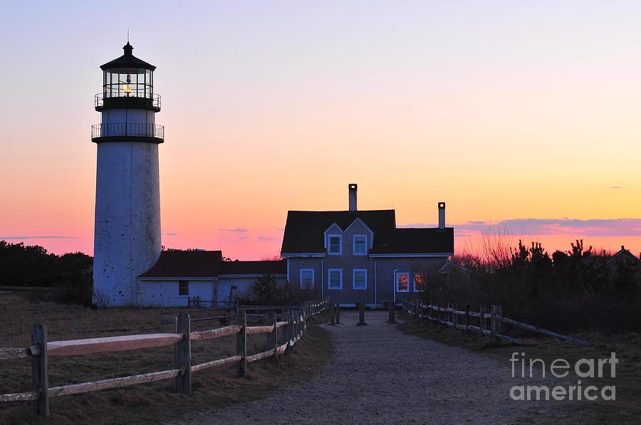 Cape Cod Light Photograph - Cape Cod Light by Catherine Reusch  Daley