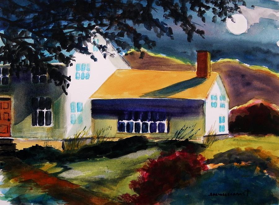Cape Cod Moon Painting