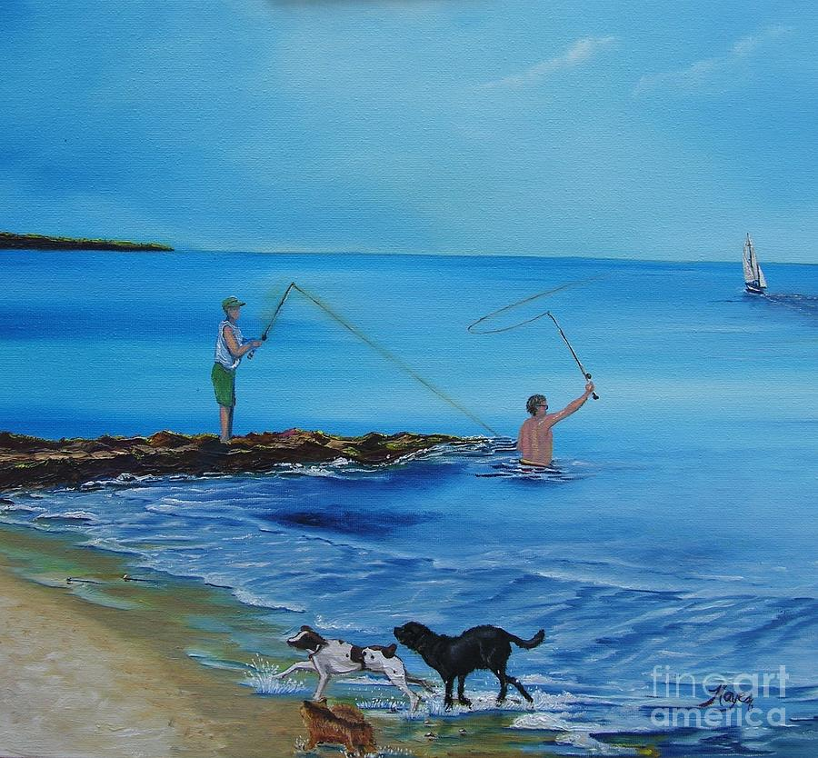 Cape Cod Summer Painting By Barbara Hayes