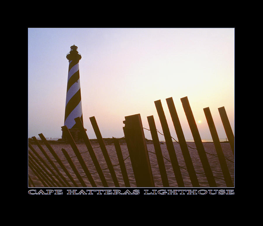 Outer Banks Sunrise Photograph - Cape Hatteras Lighthouse by Mike McGlothlen