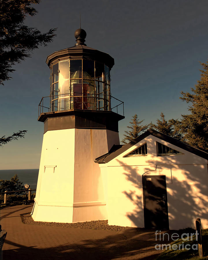 Cape Meares Lighthouse Photograph  - Cape Meares Lighthouse Fine Art Print