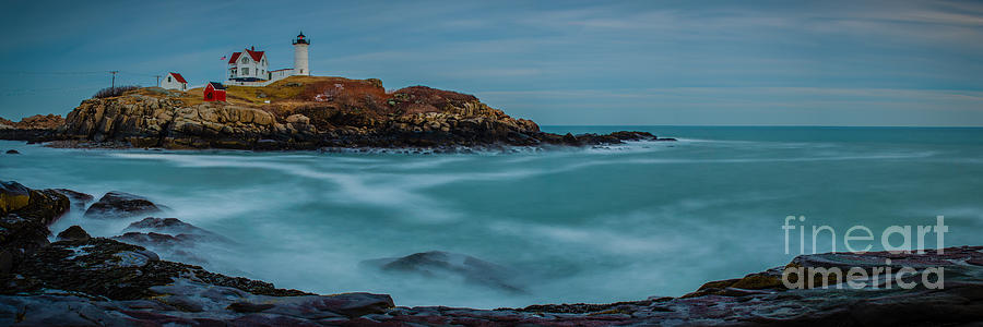 Cape Neddick Lighthouse Photograph - Cape Neddick Lighthouse by Abe Pacana