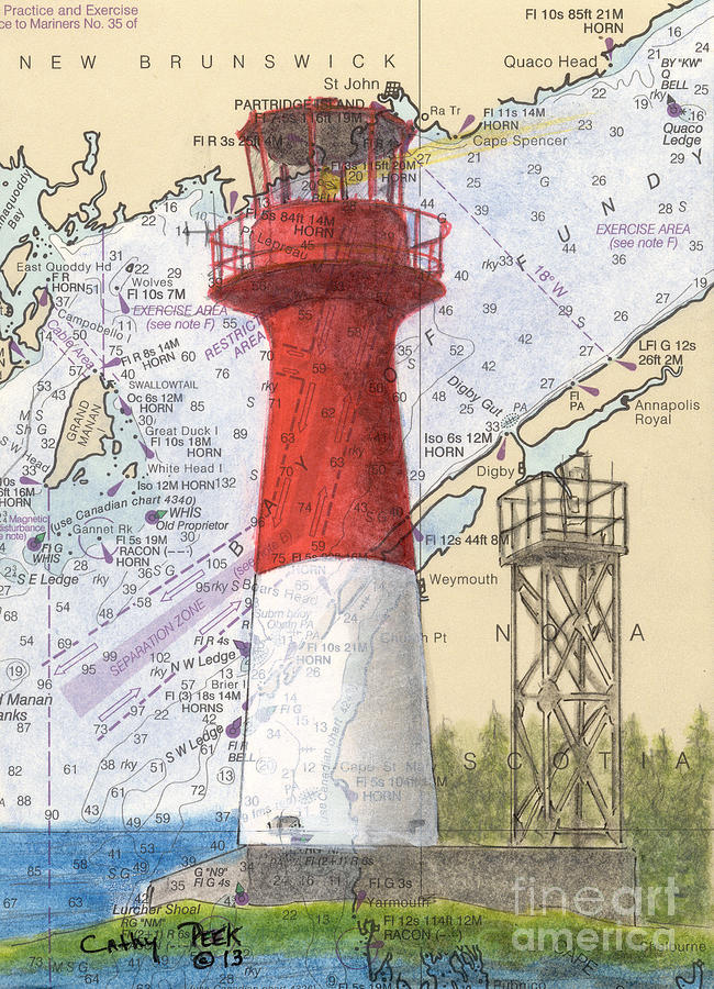 how to read nautical charts canada