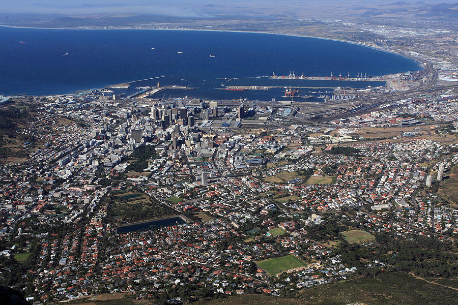 Cape Town Panorama Photograph