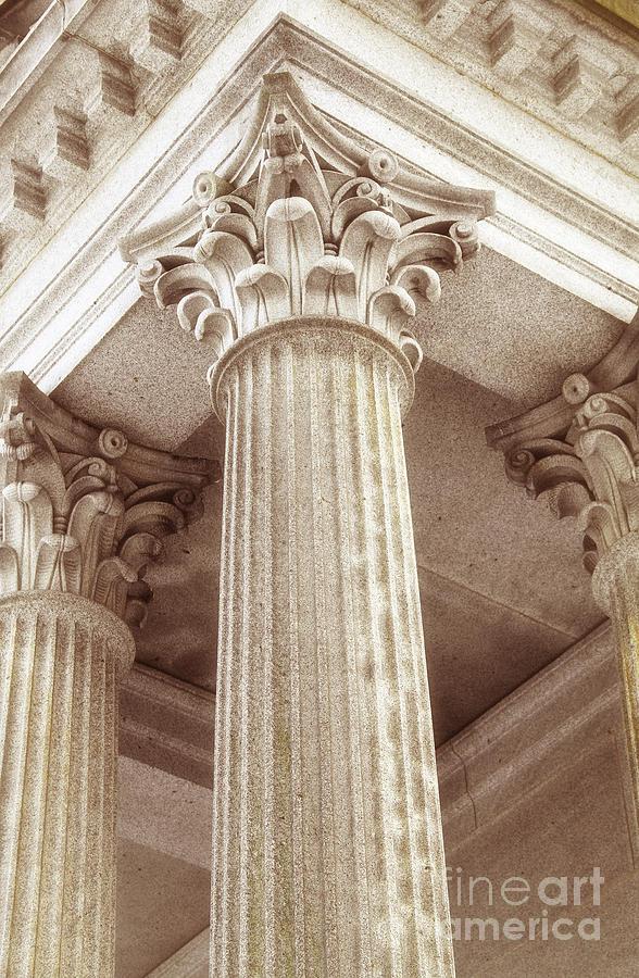 Capital Of The Column Photograph