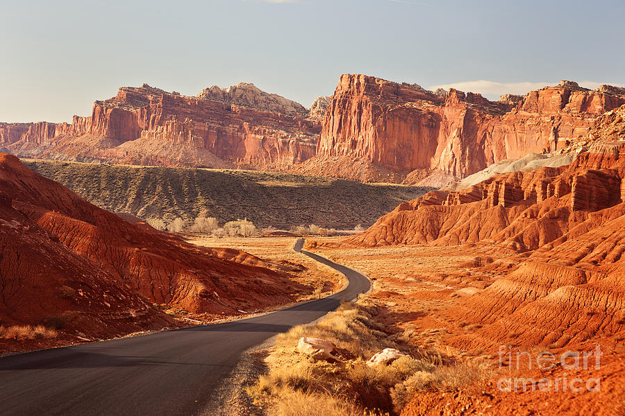Capitol Reef National Park Landscape Photograph  - Capitol Reef National Park Landscape Fine Art Print