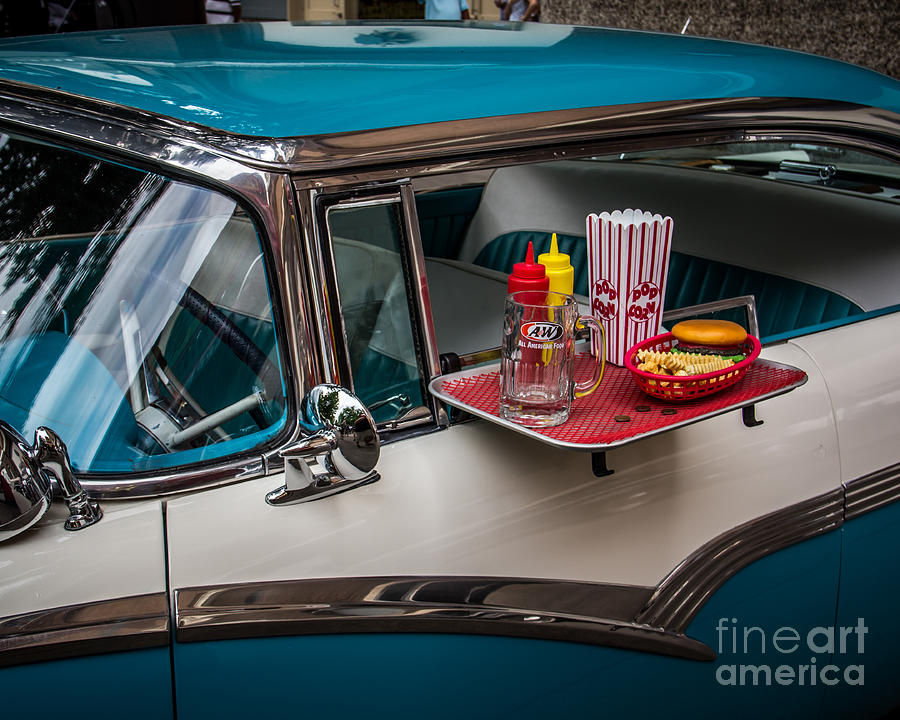 Car Hop Photograph  - Car Hop Fine Art Print