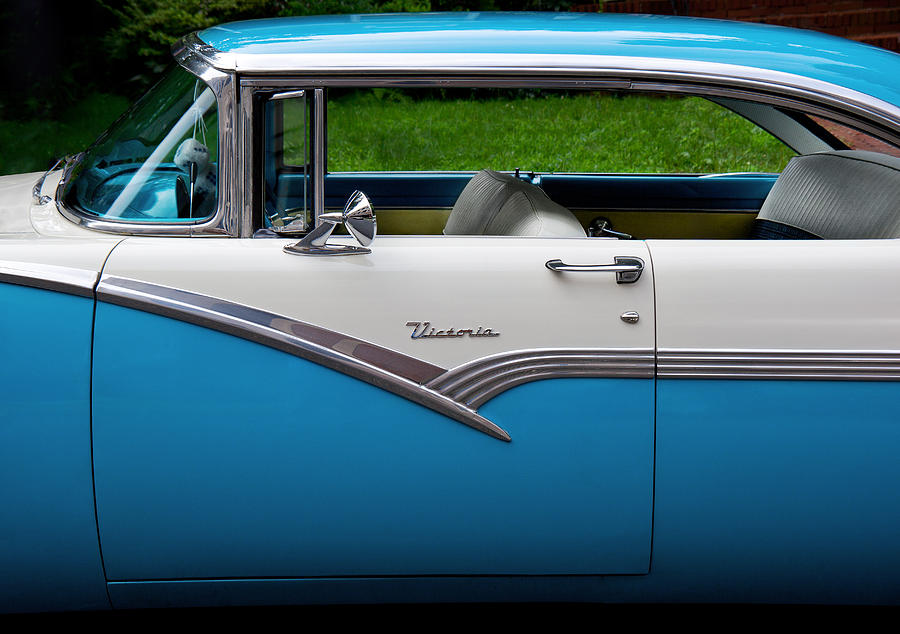 Hdr Photograph - Car - Victoria 56 by Mike Savad