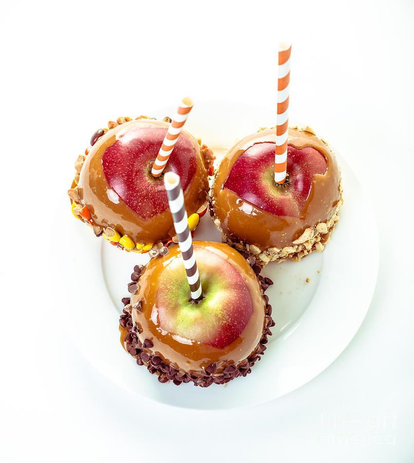 Candy Photograph - Caramel Apples by Edward Fielding
