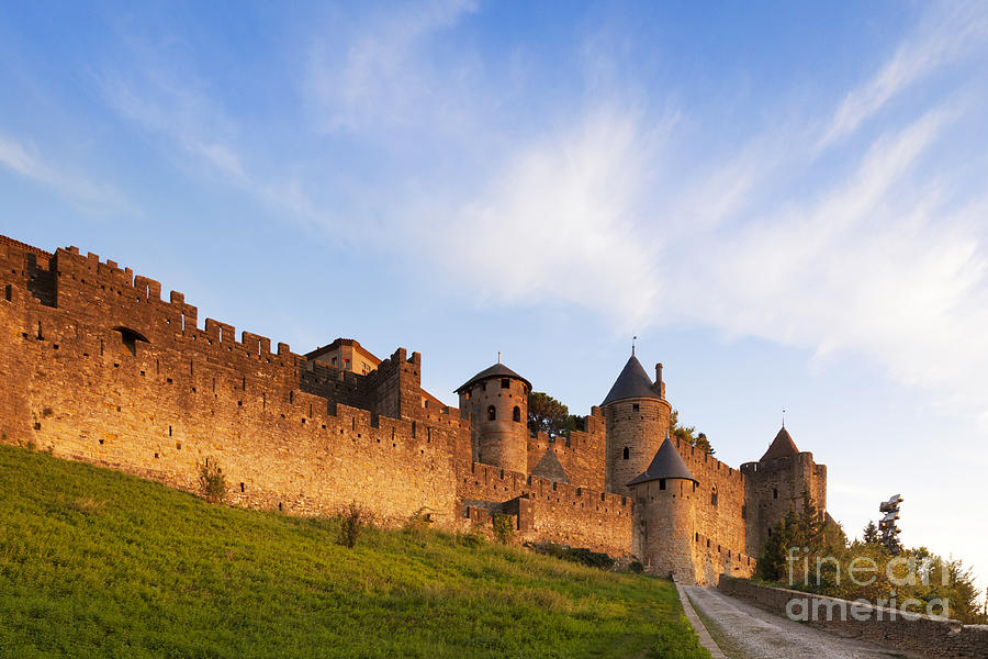 Carcassonne Languedoc Roussillon France Photograph