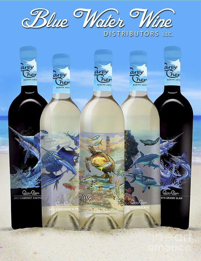 Carey Chen Fine Art Wines Glass Art