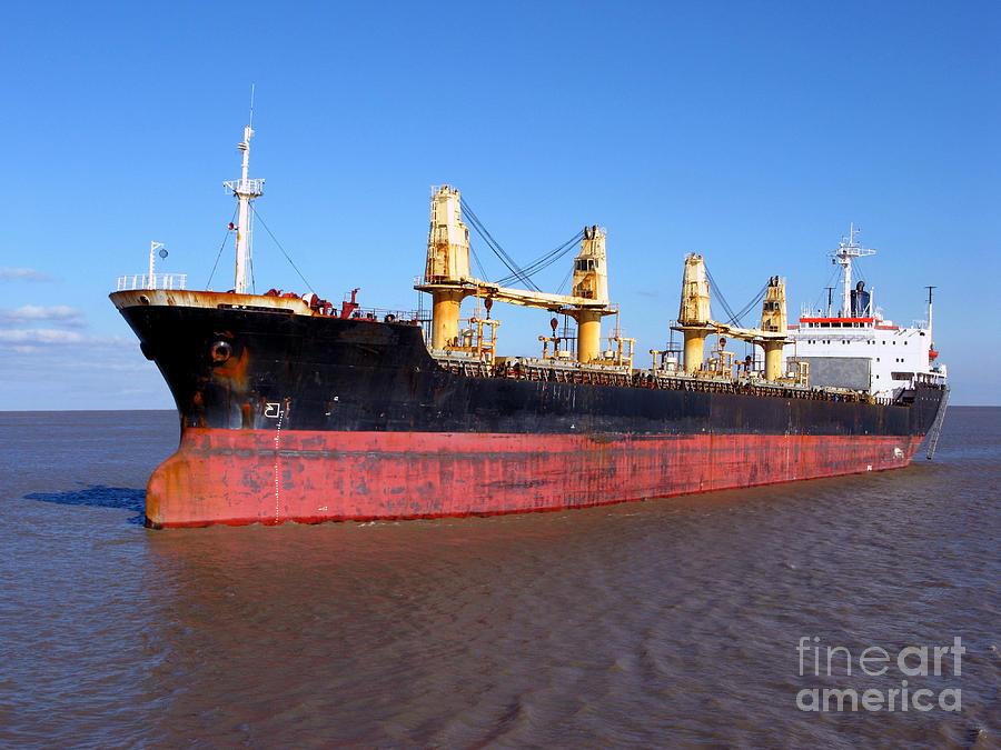 Cargo Ship Photograph