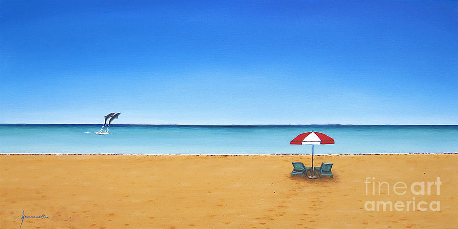 Caribbean Beach Painting