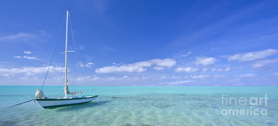 Caribbean Photograph - Caribbean Chill Time by Marco Crupi