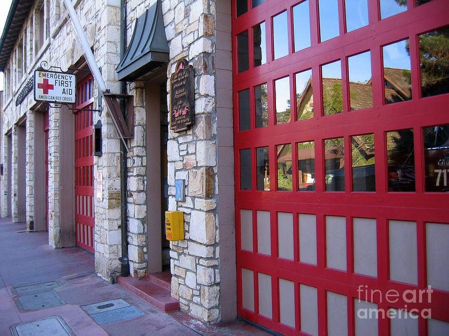 Carmel By The Sea Fire Station Photograph