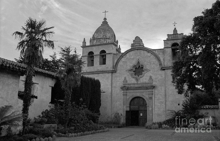 Carmel Mission Photograph