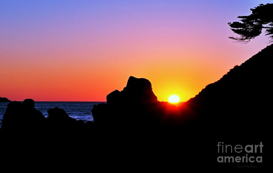 Carmel Sunset Photograph