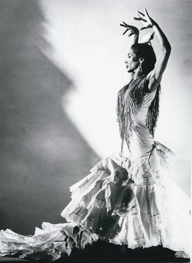 Carmen Amaya , Queen Of The Flamenco, Is Dying Photograph by Retro ...