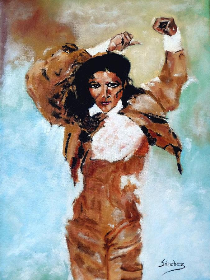 Carmen Amaya Painting