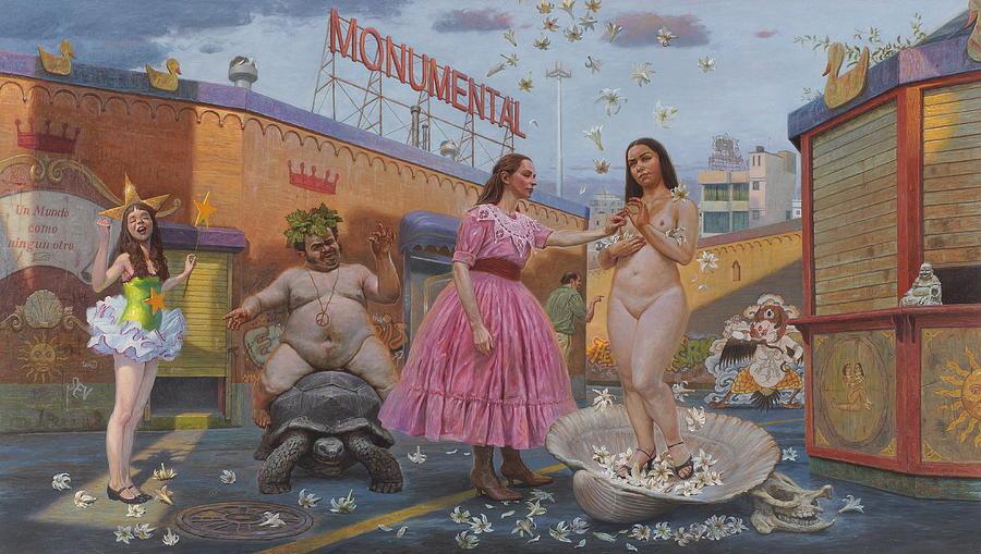 Carmencitas Sordid Tales Painting