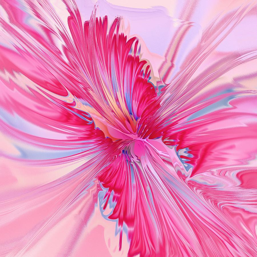 Carnation Pink Digital Art