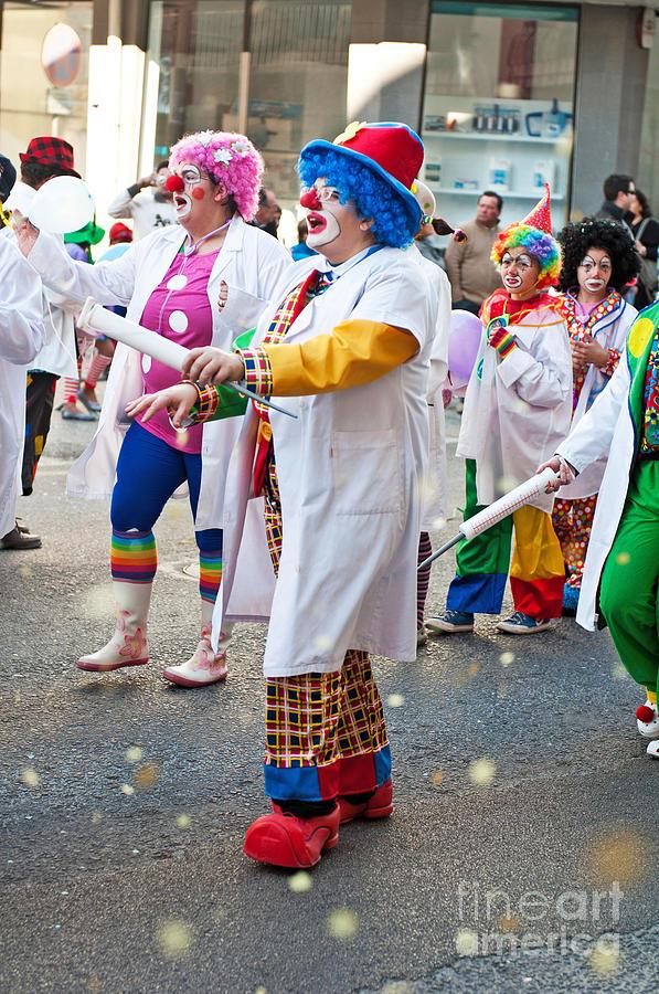 Carnaval De Ourem Photograph