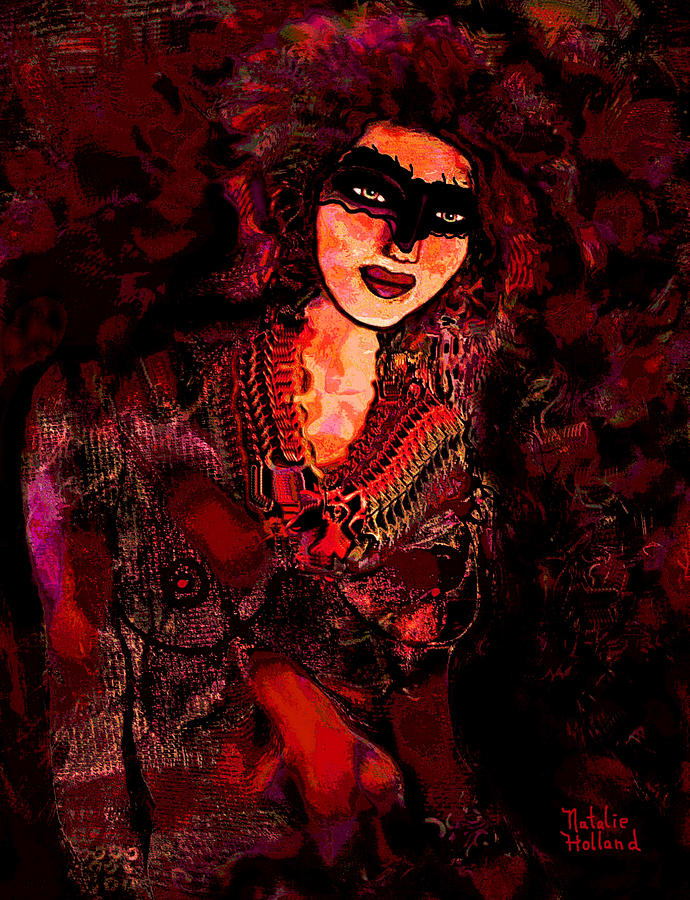 Carnavale Mixed Media  - Carnavale Fine Art Print