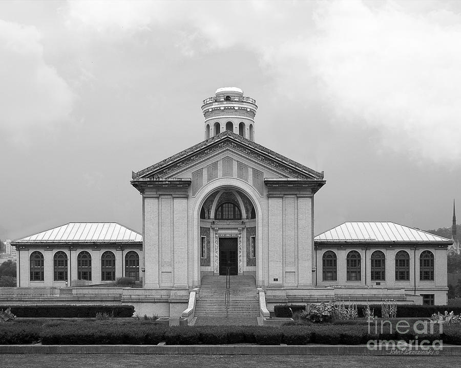 Carnegie Mellon University Hamerschlag Hall Photograph  - Carnegie Mellon University Hamerschlag Hall Fine Art Print