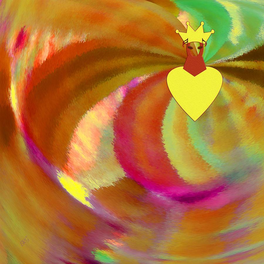 Colorful Digital Art - Carnival by Ben and Raisa Gertsberg