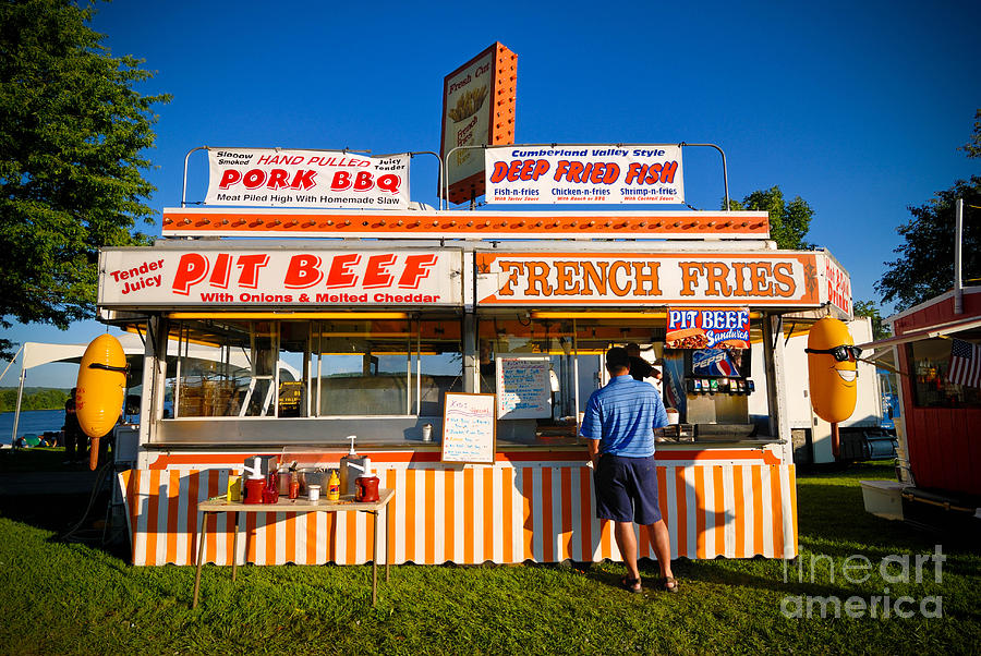 Carnival Concession Stand is a photograph by Amy Cicconi which was ...
