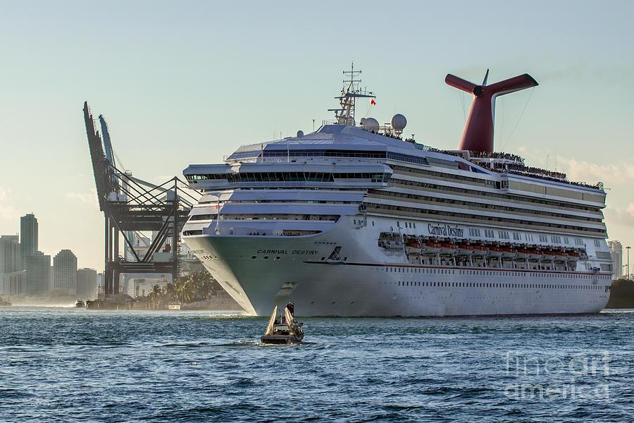 Carnival Cruise Line Destiny Photograph - Carnival Cruise Line Destiny by Rene Triay Photography