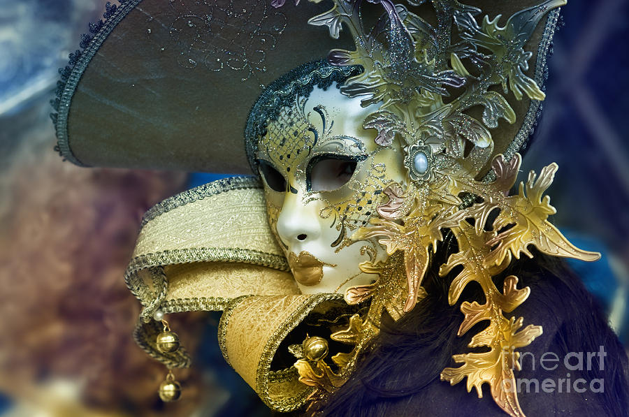 Olia Saunders Photograph - Carnival In Venice 18 by Design Remix