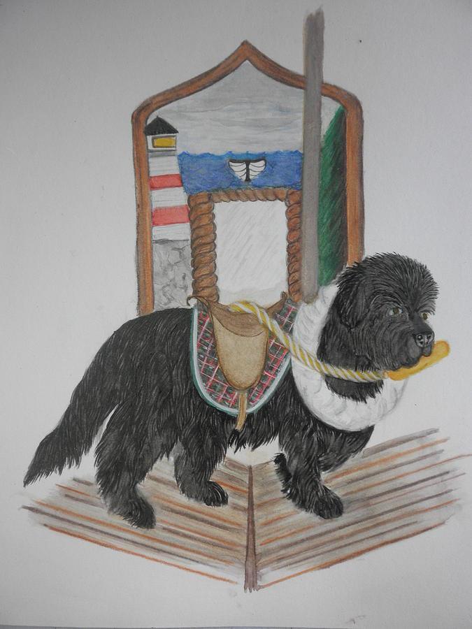 Carousel Newf I Painting