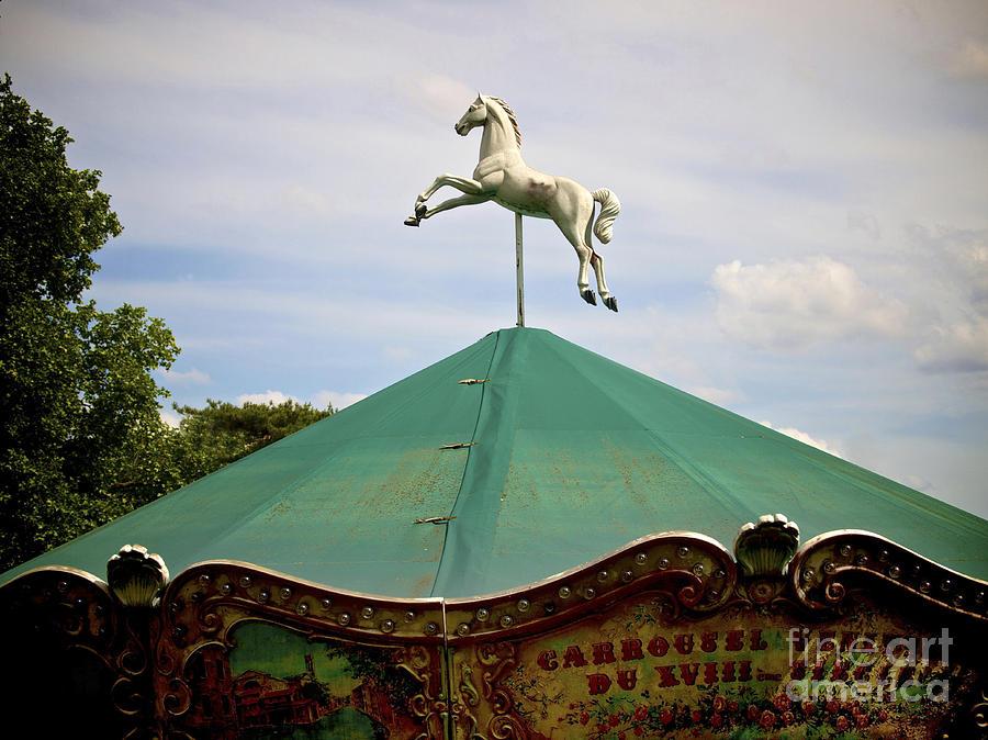 Carousel. Paris. France. Photograph