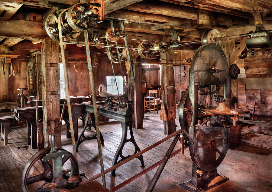Carpenter - This Old Shop Photograph  - Carpenter - This Old Shop Fine Art Print