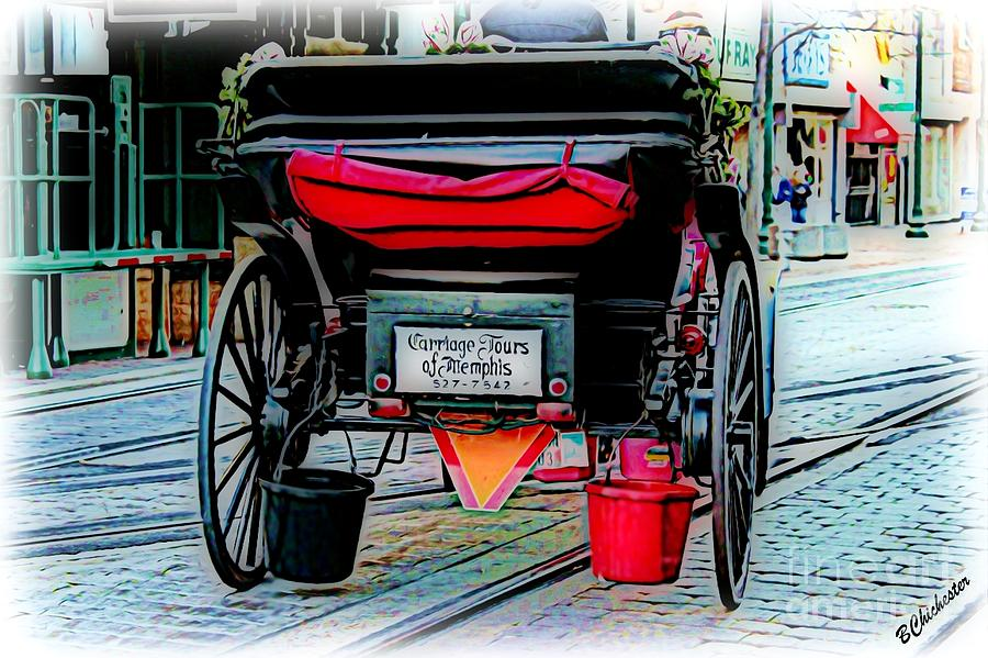 Carriage Tours  Painting  - Carriage Tours  Fine Art Print
