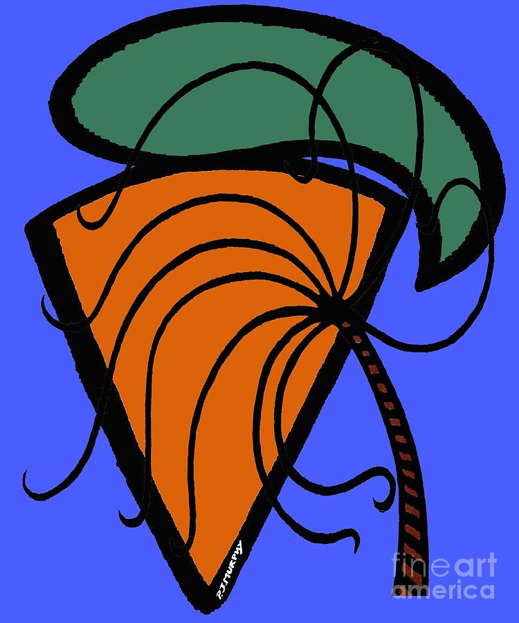 Carrot And Stick Painting  - Carrot And Stick Fine Art Print