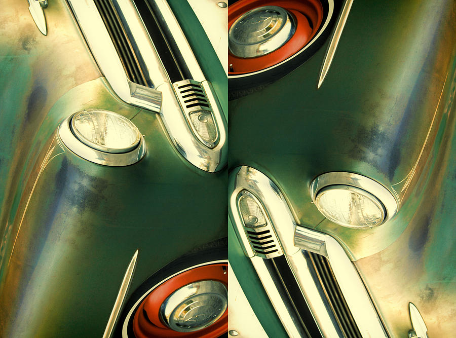 Car Art Photograph - Carschach011 by Tony Grider