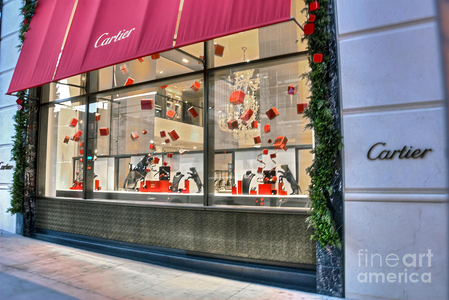 Cartier rodeo drive beverly hills ca photograph by david for Cartier in beverly hills