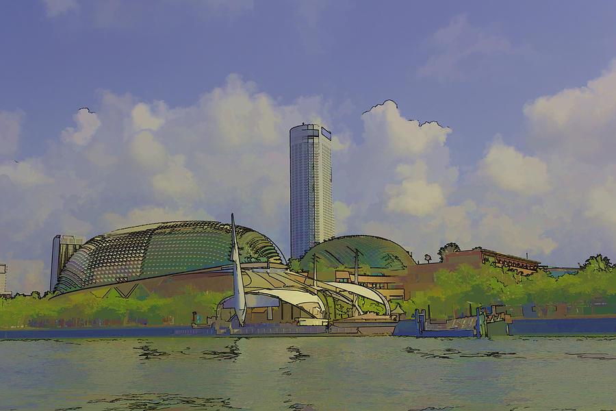 Cartoon a tall hotel the swissotel hotel in singapore for Tallest hotel in singapore